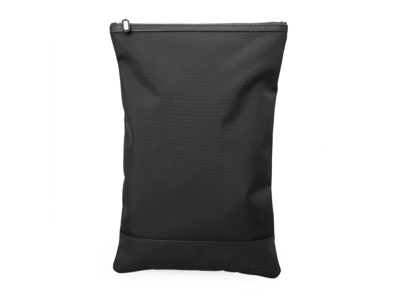 shoe pouch black front