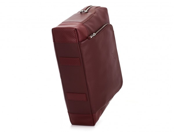 maletín de piel burdeos base
