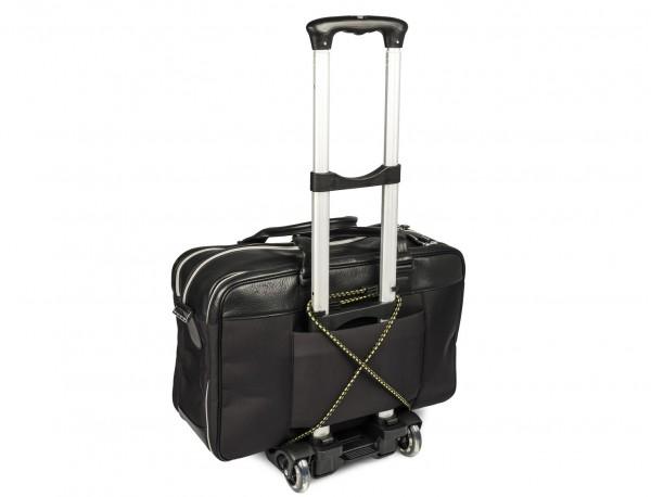 Carrito portátil plegable de aluminio para maletas con maleta