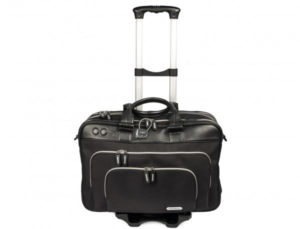 Carrito portátil plegable de aluminio para maletas perfil