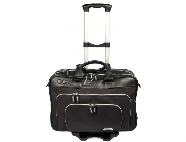 Foldable aluminium luggage cart for bags with bag