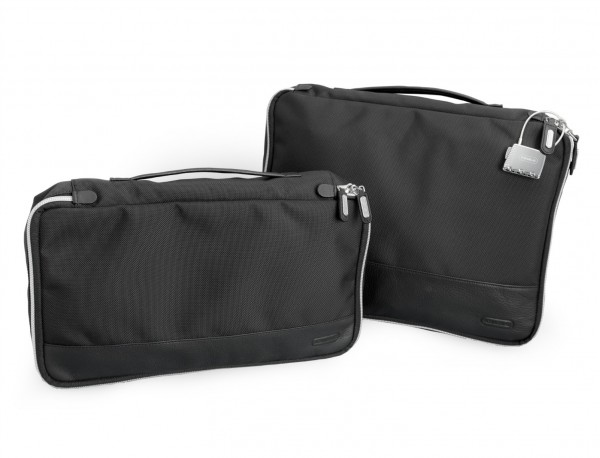 Grande borsa multiuso organizer con tasca interna con cerniera in nylon balistico pack