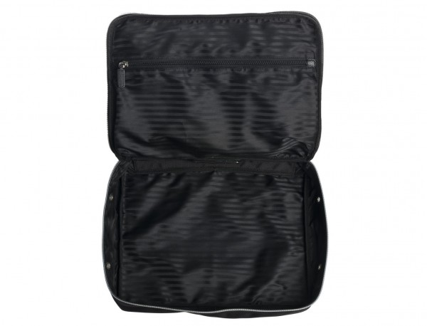 Large packing cube with internal zip-pocket in ballistic nylon open