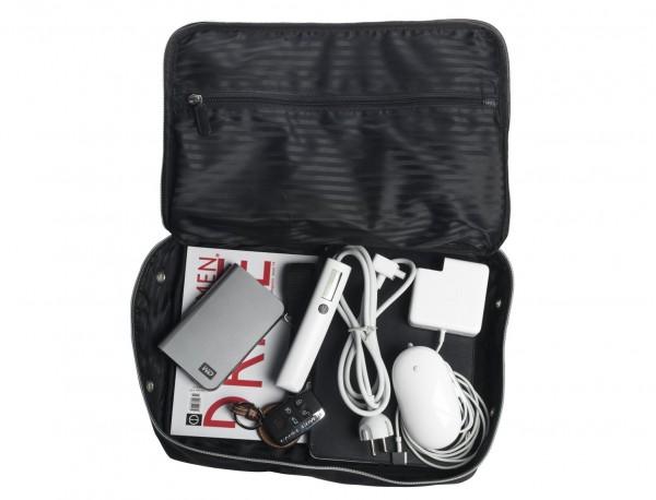 Grande borsa multiuso organizer con tasca interna con cerniera in nylon balistico with accessories