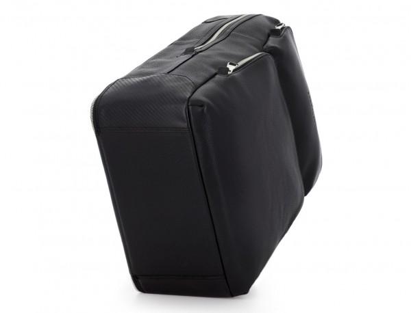 leather backpack in black base