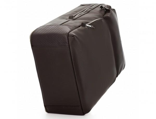 mochila de piel marrón base