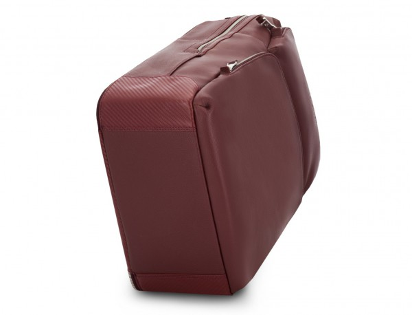 mochila de piel burdeos base