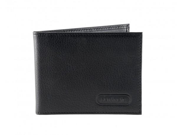 Leather credit card holder for men front