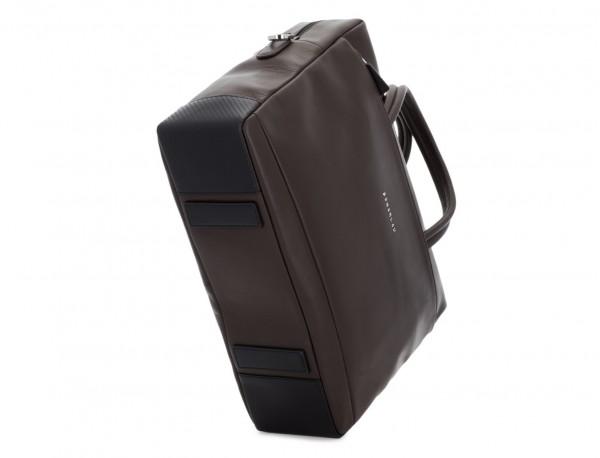 maletín grande de piel marrón base