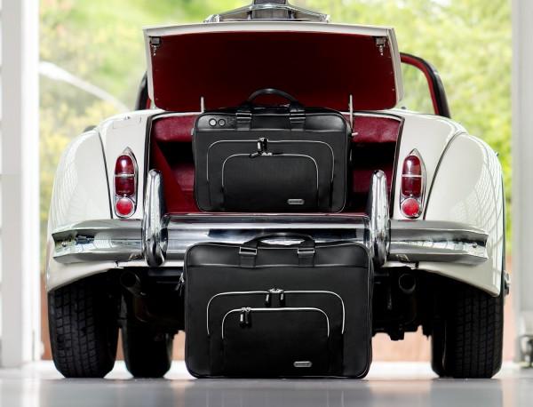 Large travelling bag in ballistic nylon cabin size lifestyle