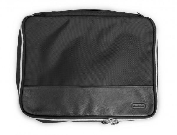 bolsa organizadora de nylon negra lateral