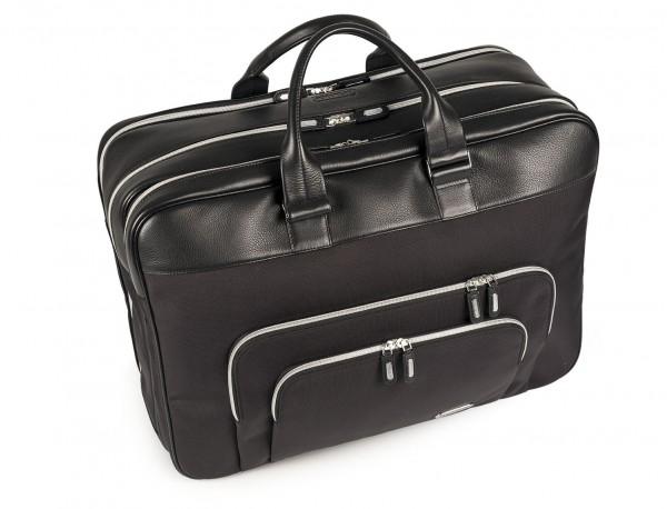 Large travelling bag in ballistic nylon cabin size