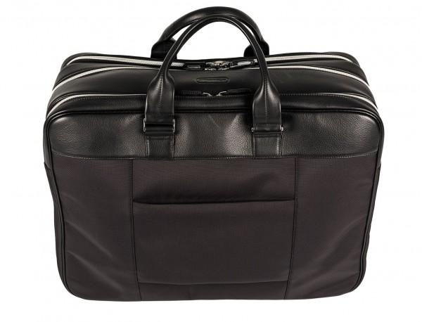 Large travelling bag in ballistic nylon cabin size back