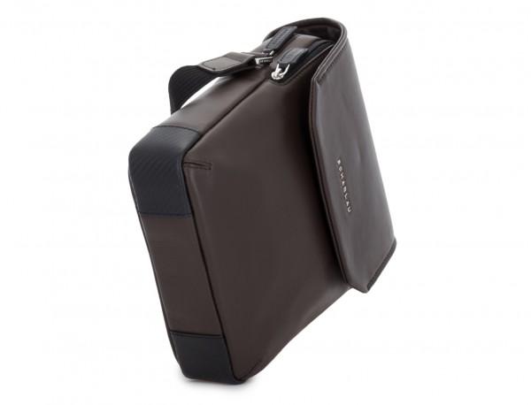bolso bandolera de con solapa marrón base