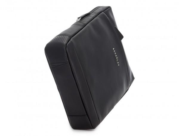 bolso bandolera de piel negra base