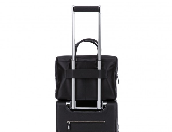 leather small business bag trolley