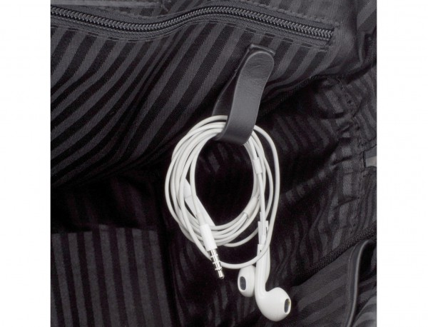 leather small business bag cables