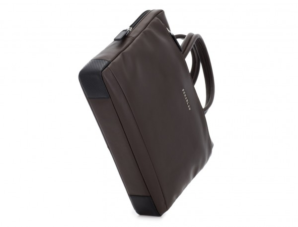 leather small business bag brown base