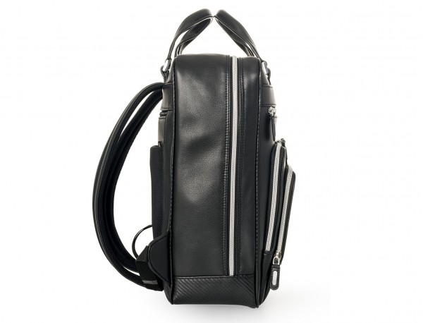 Leather executive backpack for men lado