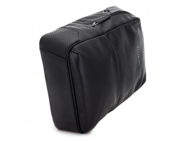 mochila pequeña de piel negra base
