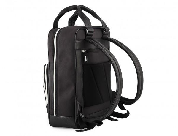 Executive backpack in ballistic nylon side back