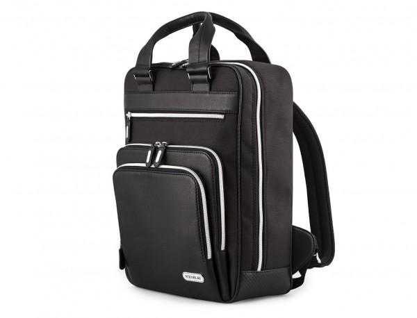Executive backpack in ballistic nylon side