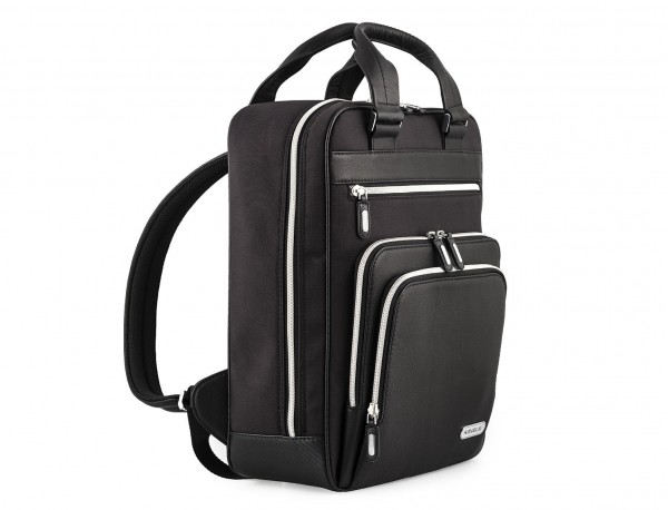 Executive backpack in ballistic nylon front detail