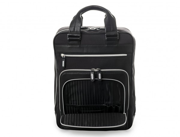 Executive backpack in ballistic nylon detail front