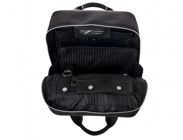 Executive backpack in ballistic nylon inside