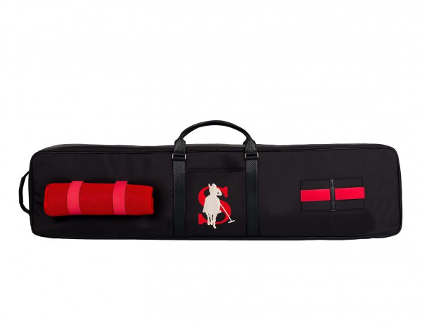 Polo mallets bag in ballistic nylon  back