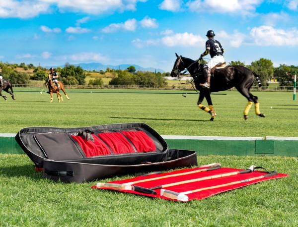 Polo mallets bag in ballistic nylon lifestyle