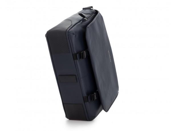 leather messenger bag blue base