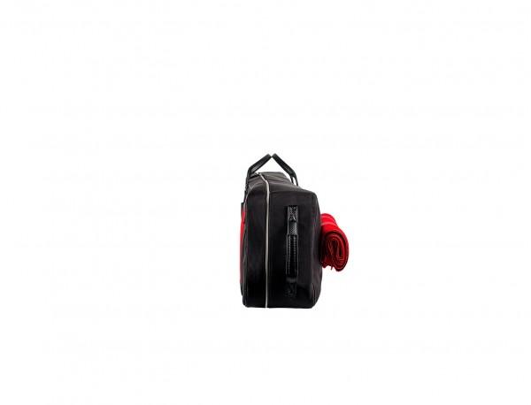 Polo mallets bag in ballistic nylon side
