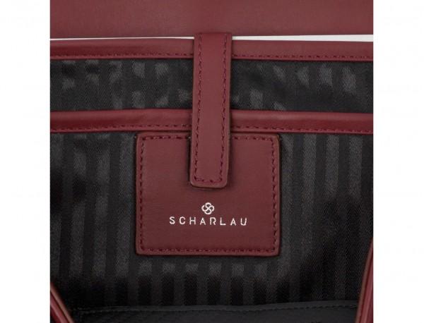 leather messenger bag burgundy laptop