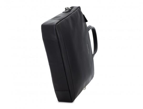 maletín de piel negro base