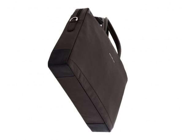 maletín de piel marrón base