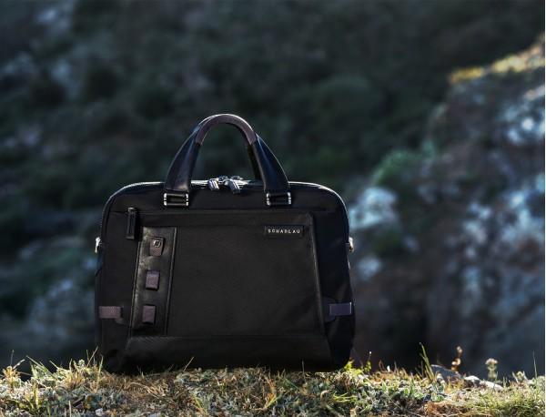 men laptop briefbag black model