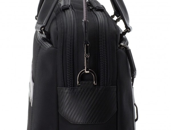 men laptop briefbag black strap