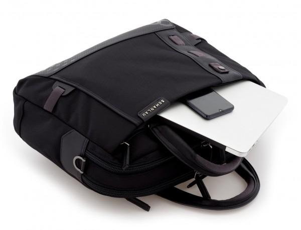 maletín de hombre negro laptop