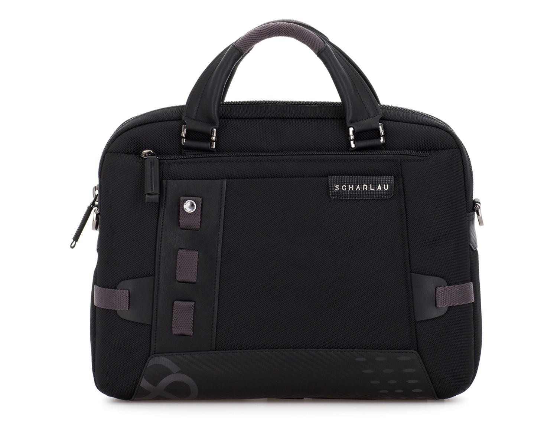 Cartella laptop nera front