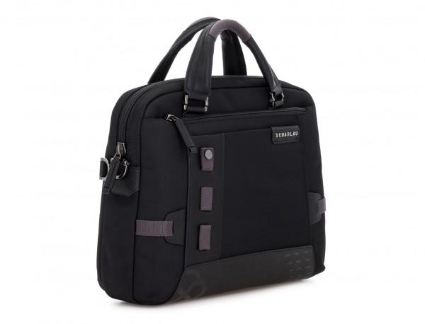 laptop briefbag black side