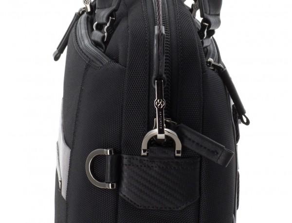 laptop briefbag black strap