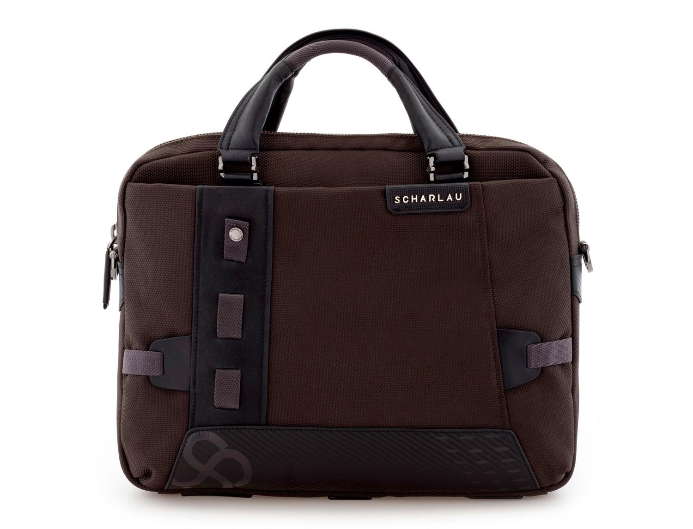 Cartella laptop marrone front