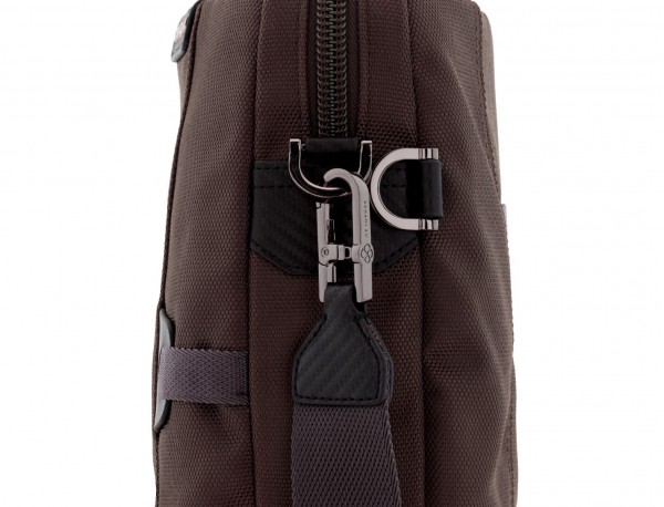 Cartella laptop marrone strap