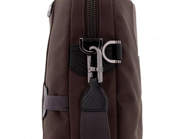 laptop briefbag brown strap