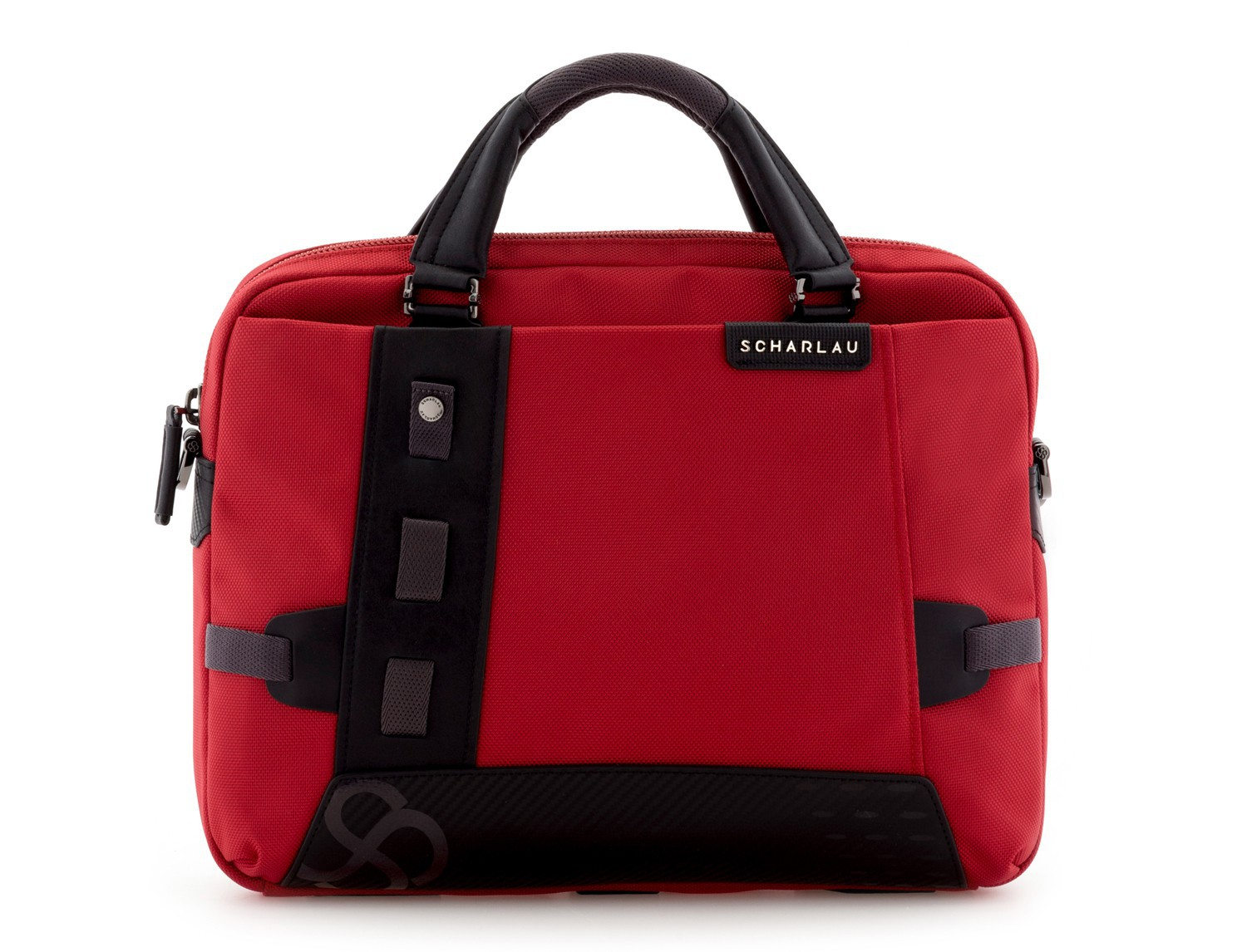 Cartella laptop rosso front