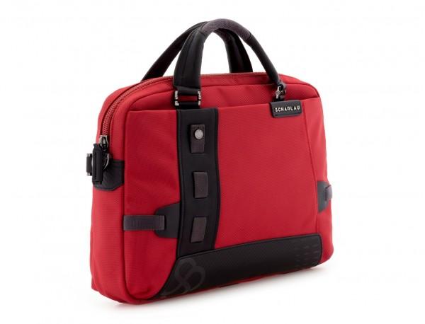 laptop briefbag red side