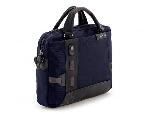 Cartella laptop blu side