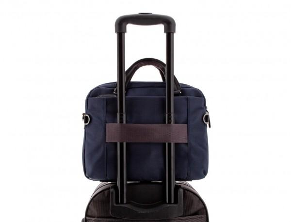 laptop briefbag blue trolley