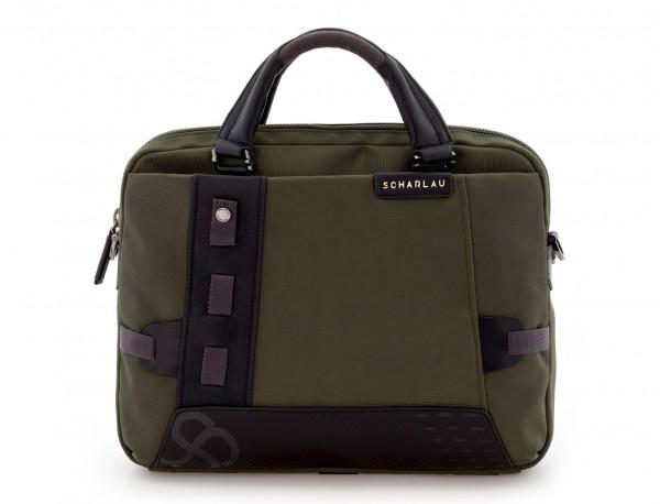 Cartella laptop verde front